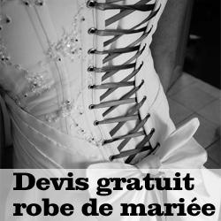 Devis robe de mariée