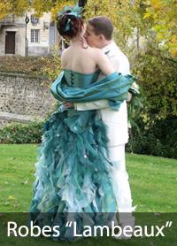 robes de mariée lambeaux