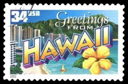 Un courrier d' Hawaï , signé La Fée !