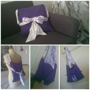 En mode rétro violet