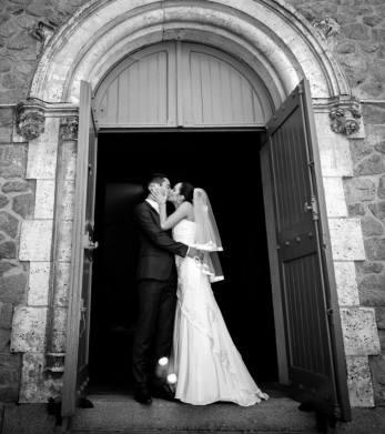 Une mariée élancée