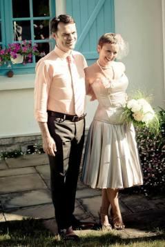 Un mariage rétro