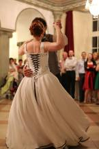 Une robe de bal