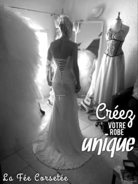 une robe plus glamour