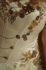 Détail d'un corset